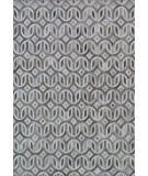 Exquisite Rugs Natural Hair on Hide 2140 Gray - Ivory Area Rug