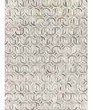 Exquisite Rugs Natural Hair on Hide 2141 Silver - Ivory Area Rug