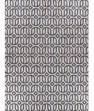 Exquisite Rugs Natural Hair on Hide 2142 Silver - Blue Area Rug
