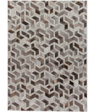 Exquisite Rugs Natural Hair on Hide 2144 Silver - Ivory Area Rug