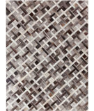 Exquisite Rugs Natural Hair on Hide 2148 Ivory - Gray Area Rug