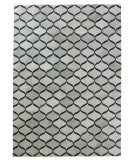 Exquisite Rugs Natural Hair on Hide 2153 Silver - Blue Area Rug