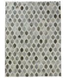 Exquisite Rugs Natural Hair on Hide 2155 Gray - Silver Area Rug