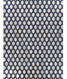 Exquisite Rugs Natural Hair on Hide 2157 Silver - Blue Area Rug