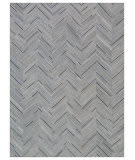 Exquisite Rugs Natural Hair on Hide 2163 Silver - Blue Area Rug