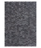 Exquisite Rugs Natural Hair on Hide 2164 Black - Gray Area Rug