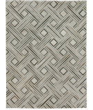 Exquisite Rugs Natural Hair on Hide 2166 Silver - Ivory Area Rug
