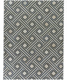 Exquisite Rugs Natural Hair on Hide 2167 Ivory - Blue Area Rug