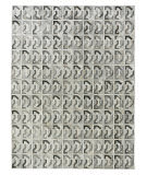 Exquisite Rugs Natural Hair on Hide 2168 Ivory - Silver Area Rug