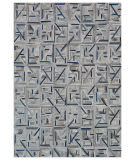 Exquisite Rugs Natural Hair on Hide 2173 Gray - Blue Area Rug