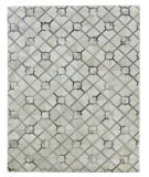 Exquisite Rugs Natural Hair on Hide 2174 Ivory - Gray Area Rug