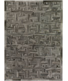 Exquisite Rugs Natural Hair on Hide 2177 Gray - Brown Area Rug