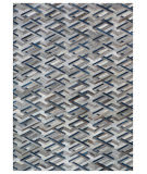 Exquisite Rugs Natural Hair on Hide 2180 Silver - Blue Area Rug