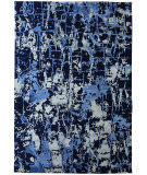Exquisite Rugs Cecily Hand Knotted 2199 Dark Blue Area Rug
