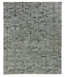 Exquisite Rugs Natural Hair on Hide 2202 Silver - Ivory Area Rug