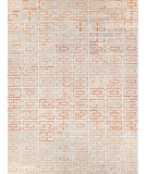 Exquisite Rugs Natural Hair on Hide 2204 Terracotta - Ivory Area Rug