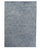 Exquisite Rugs Moroccan Hand Knotted 2245 Silver - Aqua Area Rug