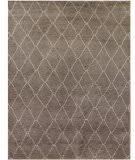 Exquisite Rugs Moroccan Hand Knotted 2250 Gray Area Rug