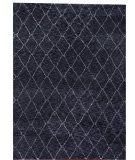 Exquisite Rugs Moroccan Hand Knotted 2251 Charcoal Area Rug
