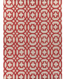 Exquisite Rugs Windsor Hand Woven 2455 Rust - Gray Area Rug