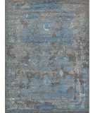 Exquisite Rugs Maison Hand Knotted 2470 Gray - Blue Area Rug
