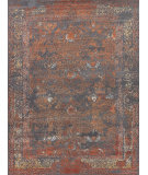 Exquisite Rugs Maison Hand Knotted 2471 Gray - Red Area Rug