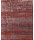 Exquisite Rugs Fine Mamluk Hand Knotted 2482 Red Area Rug