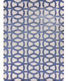 Exquisite Rugs Moreno Hand Knotted 2504 Ivory - Denim Area Rug