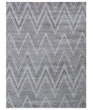 Exquisite Rugs Reflections Hand Woven 2521 Silver - Gray Area Rug