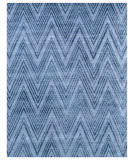 Exquisite Rugs Reflections Hand Woven 2523 Blue - Denim Area Rug