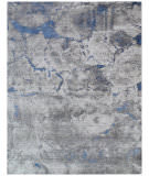 Exquisite Rugs Reflections Hand Woven 2533 Gray Area Rug
