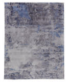 Exquisite Rugs Reflections Hand Woven 2543 Silver Area Rug