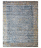 Exquisite Rugs Cassina Hand Woven 2547 Blue - Silver Area Rug