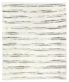 Exquisite Rugs Moroccan Hand Knotted 2560 Ivory - Dark Gray Area Rug