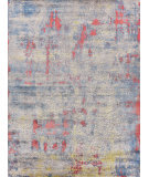 Exquisite Rugs Reflections Hand Woven 2616 Ivory - Blue Area Rug