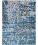 Exquisite Rugs Reflections Hand Woven 2617 Blue Area Rug