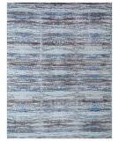 Exquisite Rugs Reflections Hand Woven 2626 Brown - Blue Area Rug