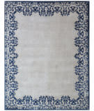 Exquisite Rugs Roset Hand Woven 2632 Ivory-Blue Area Rug