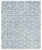 Exquisite Rugs Laurice Hand Woven 2708 Dark Blue Area Rug
