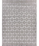 Exquisite Rugs Moreno Hand Knotted 3032 Gray - Silver Area Rug