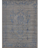 Exquisite Rugs Mentas Hand Knotted 3130 Grey - Blue Area Rug