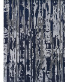 Exquisite Rugs Karen Hand Knotted 3135 Navy - Silver - Multi Area Rug