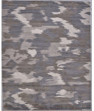 Exquisite Rugs Bamboo Silk Hand Knotted 3282 Ivory - Silver Area Rug