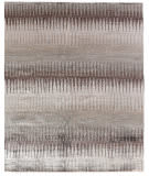 Exquisite Rugs Bamboo Silk Hand Knotted 3286 Gray - Brown Area Rug