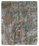 Exquisite Rugs Koda Hand Woven 3333 Blue - Brown Area Rug