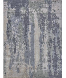 Exquisite Rugs Abstract Expressions Hand Knotted 3337 Blue - Gray Area Rug