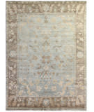 Exquisite Rugs Oushak Hand Knotted 3346 Gray - Light Brown Area Rug