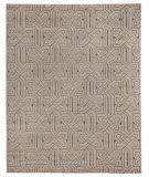 Exquisite Rugs Prague Hand Knotted 3387 Ivory - Gray Area Rug