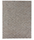 Exquisite Rugs Berlin Hair on Hide 3418 Beige - Silver Area Rug