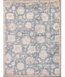 Exquisite Rugs Museum Hand Knotted 3496 Midnight Blue Area Rug